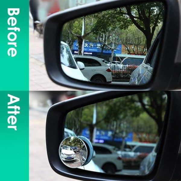 Car Blind Spot Eliminator Mirror