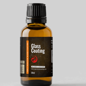 Glass coating for windshield