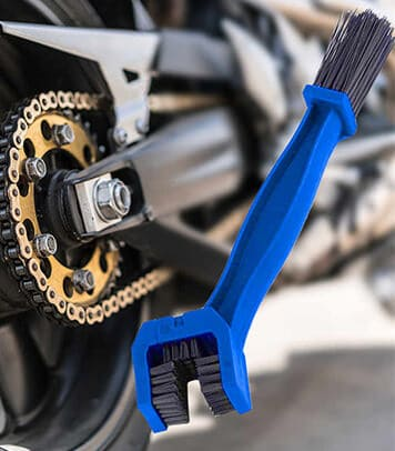 Cleaning Brush for Motorcycle Chain