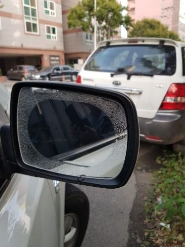 rear view mirror rain protector film