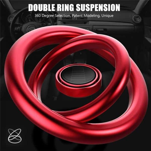 Double Ring Car Dashboard air freshener buy in india