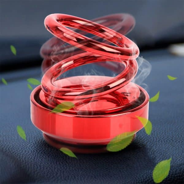 car double ring perfume