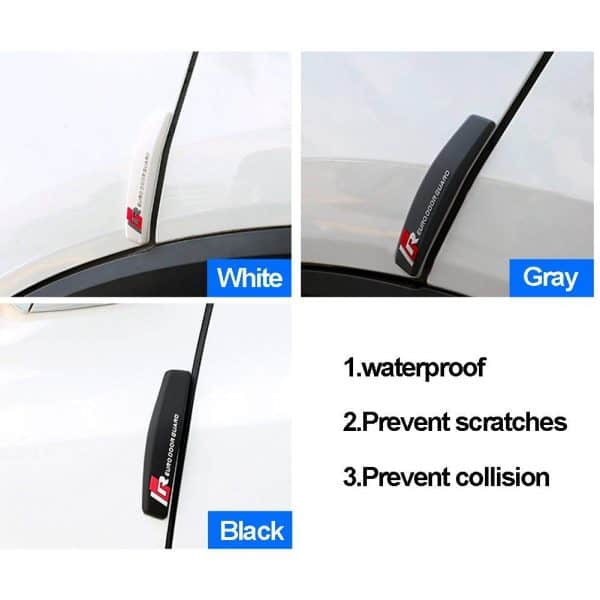 Car Door Scratch Guard Protector (Set of 4)